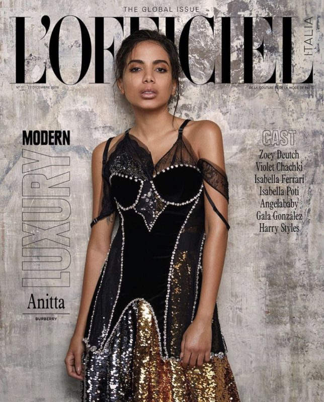 Modern Luxury – Anitta -L'OFFICIEL Italia