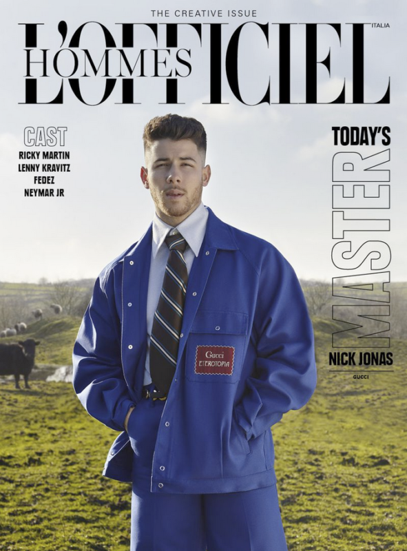 Today's Master – Nick Jonas- L'OFFICIEL Italia