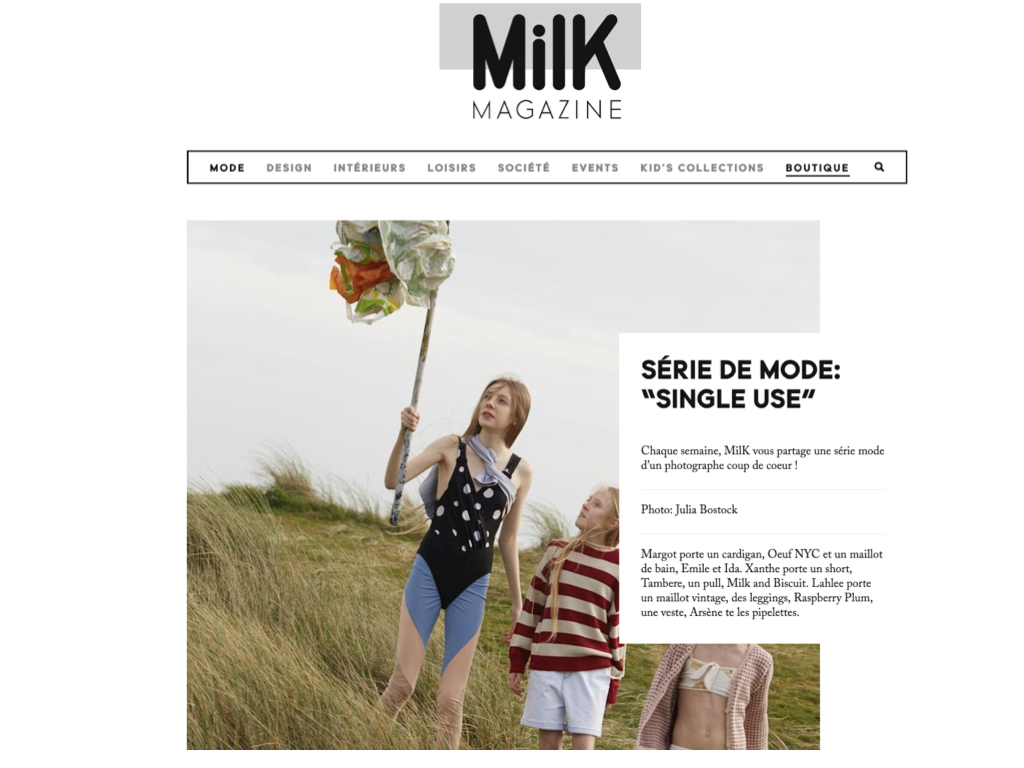 Single Use – Milk Magazine #68